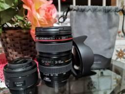 Lentes Canon 24-105mm e 50mm