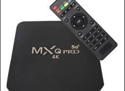 Tv Box Android 10.1 4gb 64gb 5g o mais Atualizado