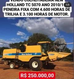 Colheitadeira NH TC 5070 2010/11