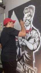 Camisetas personalizadas em grafite