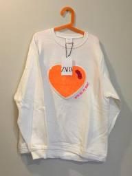 Blusa de moleton Zara Kids