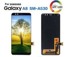 Tela Display Completo Samsung A8 2018 A530 Original - Já Instalada Na Hora !!!!