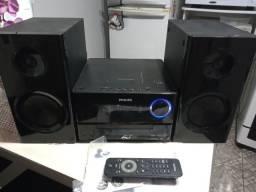 Micro system Philips woox impecável usb