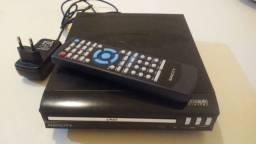 DVD com controle e usb. Navcity