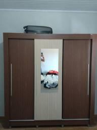 Guarda Roupa 3 Portas c/ Espelho