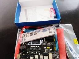 Placa Mãe Socket 1155 I3/i5/i7 DDR3 H61-Oferta Friday + 6 Meses de Garantia