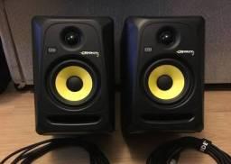 Par de monitores de áudio KRK rokit5 g3