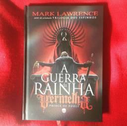 """Livro """"A Guerra da Rainha Vermelha"""""""
