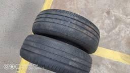 2 pneu aro 14 Dunlop 175 65 14 bom estado
