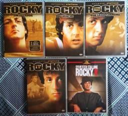 DVD - QUINTOLOGIA ROCKY