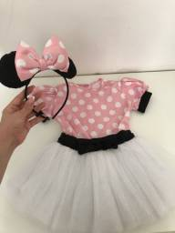 Fantasia Minnie 3 - anos