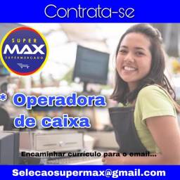 Super Max Supermercado contrata: