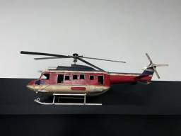 Miniatura helicóptero de Ferro Ardono Enfeite