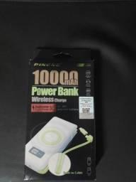 Bateria Recarregavel Pineng 10000 com indução