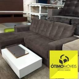 Sofá Chaise no Sued 3 lugares mega confortável de 1200,00 por 999,99