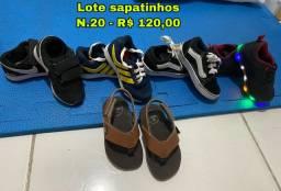 Lote Sapatinhos n.20/21 Menino