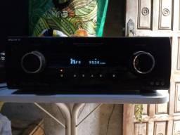 Radio toca cd Receiver sony potência, leia abaixo