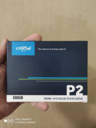 Ssd Crucial 500gb para notebook