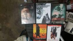 DVDs filmes originais perfeitos.