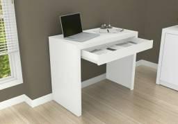 Mesa para escritório c/ Gavetão branco novo