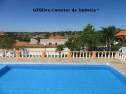 Chácara 1.050 m2 Casa e píscina ampla internet condominio Res. Ref. 419 Silva Corretor