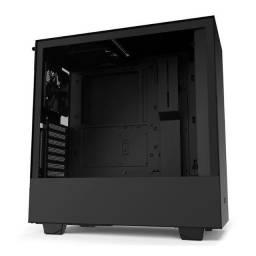 Título do anúncio: Noobi - Gabinete Gamer Nzxt H510i Mid Tower RGB C/ Fan Lateral em Vidro - CA-H510I-B1