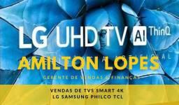 BRASIL TVS SMART 4K  TVS DIRETO DA FÁBRICA COM 1 ANO DE GARANTIA E NOTA FISCAL DE FÁBRICA