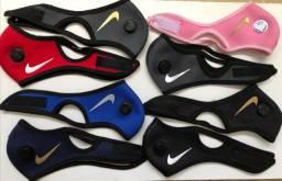 Máscaras com respiradores