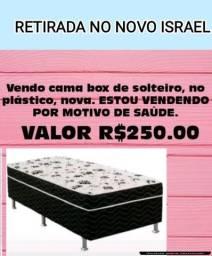 Vendo cama Box de solteiro nova