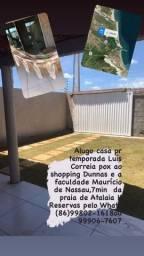 Aluga-se casa por temporada Luiz Correia