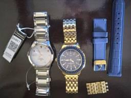 Vendo 2 Relógios Originais  unissex Lindos Novos