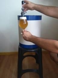 Barril postmix novo ball lock 19 litros acompanha cooler sob medida
