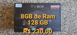 Transforme sua tv em SmartTV TvBox 128GB