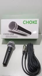 Microfone profissional M58 com fio 70 reais