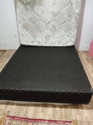 Colchão + box casal