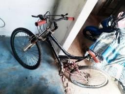 Bicicleta com dupla molas
