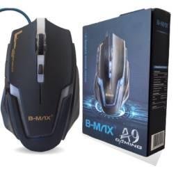 Mouse para jogo gamer modelo A9 B-Max E-Sports