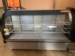 Balcão seco vitrine/padaria, lanchonete