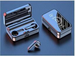 Acabando: Fones de ouvido Bluetooth sem fio, tela LED inteligente e microfone integrado