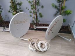 Vendo antenas mais cabos