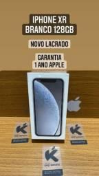 iPhone XR 128 Preto e Branco - Novo Lacrado
