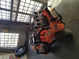 Jeep elétrico 12v dois lugares
