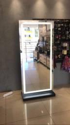 Espelhos com Led Móvel Provador