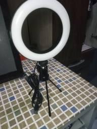 Ring Light 16 Cm + mini tripé (novo)