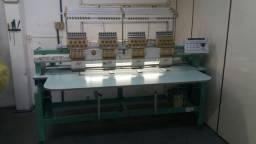 Máquina de bordado industrial tajima