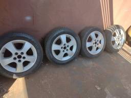 Roda aro 16 e o pneu meia vida