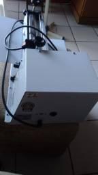 Cilindro laminador de massas elétrico
