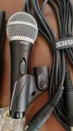 Microfone com fio Shure PG58