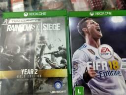 Jogos Xbox one R$40 cada(2 por 70)