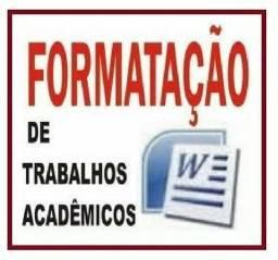 Formato trabalhos acadêmicos, TCC nas normas da ABNT